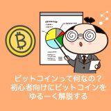 ビットコインって何なの?初心者向けにビットコインをカンタンに解説