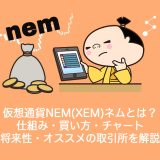仮想通貨NEM(XEM)ネム