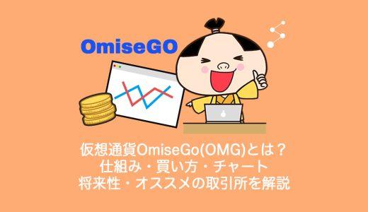 仮想通貨OmiseGo(OMG)オミセゴーとは?やめるべき?仕組み・買い方・チャート・将来性・オススメの取引所を解説。